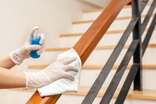 Cleaning serviced apartments
