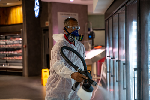 Commercial cleaning, hygienic clean