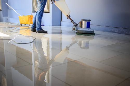 Commercial floor degrease